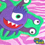 D&D Monster - Felt Patch - Beholder