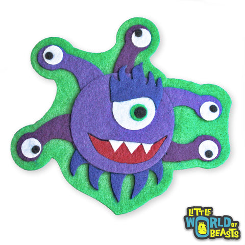 Thelonius the Beholder -Sew On or Iron On Patch