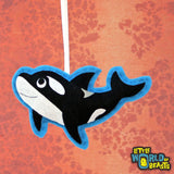 Customizable Felt Christmas Ornament - Killer Whale - Orca