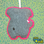 Felt Animal Ornament - Elephant