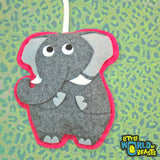 Felt Christmas Ornament - Elephant