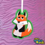 Fox - Felt Animal Christmas Ornament