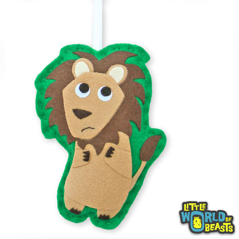 Personalizable Lion Ornament