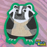 Badger - Woodland Animal Patch