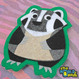 Woodland Animal - Felt Patch - Iron on or Sew on