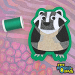 Sew On/ Iron On patch - Badger
