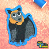 Ginger the Flying Fox Patch - Iron On or Sew On Patch  - Little World of Beasts