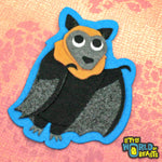 Felt Animal Patch - Bat - Flying Fox