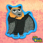Ginger the Flying Fox - Felt Animal Applique - Little World of Beasts