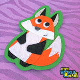 Woodland Animal Felt  Applique - Fox