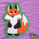 Simon the Fox -Woodland Animal Felt Patch - Little World of Beasts