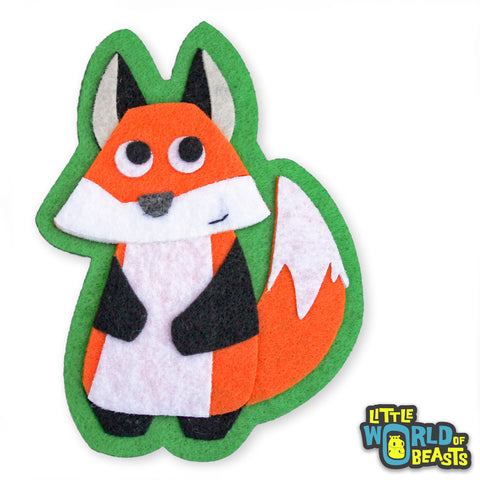 Felt Animal Patch - Fox - Sew On or Iron On