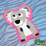Koala - Australian Felt Animal - Sew On or Iron on Patch