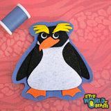 Cummerbund the Macaroni Penguin Patch