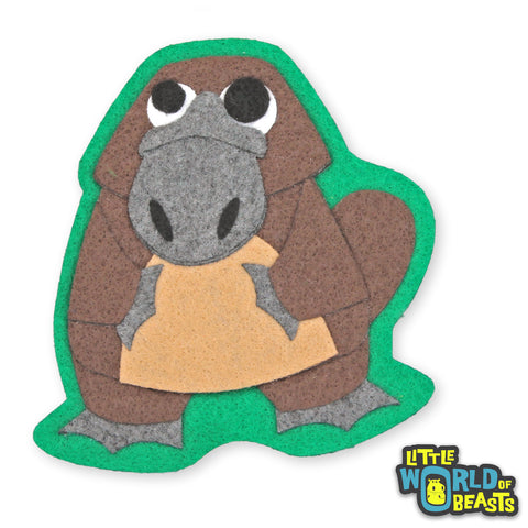Iron on or Sew On Patch - Platypus