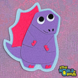 Dinosaur - Iron on or Sew On Patch