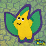 Pteranodon - Felt Dinosaur Patch - Applique