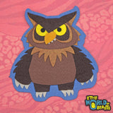 Sebastian the Owlbear -Sew On or Iron On Patch - Little World of Beasts
