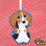 Felt Dog Breed Holiday Tree Ornament