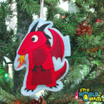Dungeon Master Gift - Red Dragon Ornament