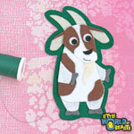 Winston the Goat - Iron on or Sew on Patch - Little World of Beasts