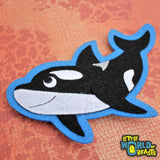 Handmade Patch - Killer Whale - Orca