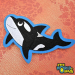 Little World of Beast - Felt Orca