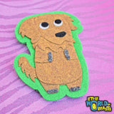 Golden Retriever - Dog Felt Patch