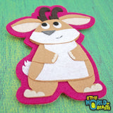 Felt Patch - Jackalope