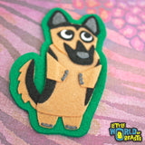 German Shepherd - Felt Animal Patch