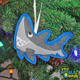 Handmade Christmas Ornament - Great White Shark