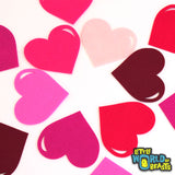 Hearts- Valentine's Day - Pre-cut Felt Shapes