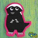 Honey Badger Felt Applique