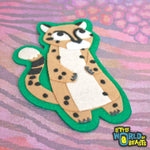 Cheetah - Felt Animal Patch - Sew on or iron on