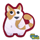 Iron On or Sew On Patch - Fat Cat