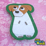 Chip the Jack Russell Sew On or Iron On Patch