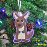 Kangaroo - Felt Christmas Ornament - Little World of Beasts
