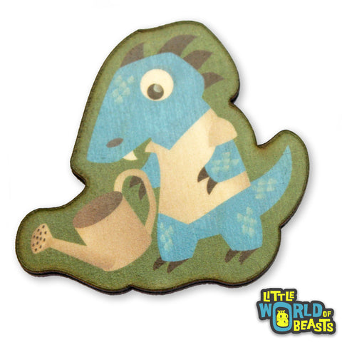 Kobold Gardens - Mundane Monster Wooden Pin