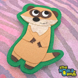 Sew On/ Iron On patch - Meerkat