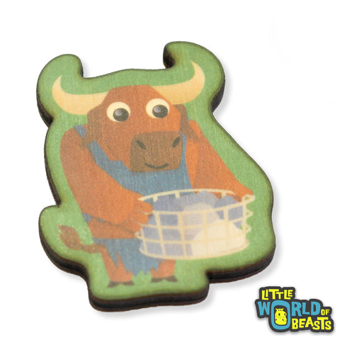 Minotaur - Wooden Pin