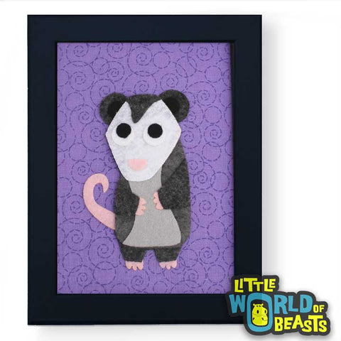 Opossum Wall Art