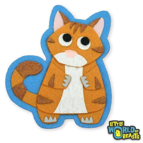Orange Tabby Cat Patch