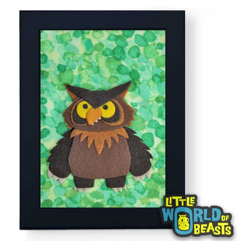 Owlbear - D&D Monster Art - Little World of Beasts
