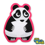 Laurence the Panda Patch - Iron On or Sew On - Little World of Beasts