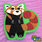 Red Panda Felt Animal Applique