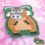 Sew On Patch - Red River Hog