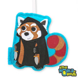 Red Panda Rogue -D&D Lovers Gift - Christmas Ornament