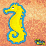 Sea Horse - Felt Animal Patch