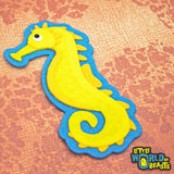Sea Horse - Felt Animal Applique