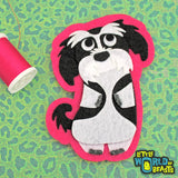 Sew on or Iron on Dog Breed Felt Patch - Shih Tzu